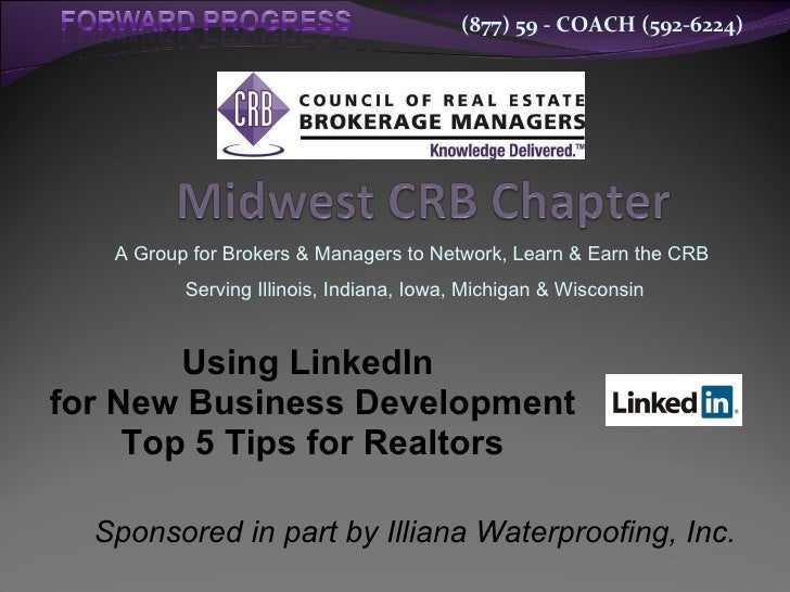 Using linked in for new business development   top 5 tips for realtors