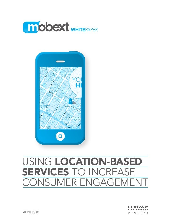 Using Location-Based Services to Increase Consumer Engagement