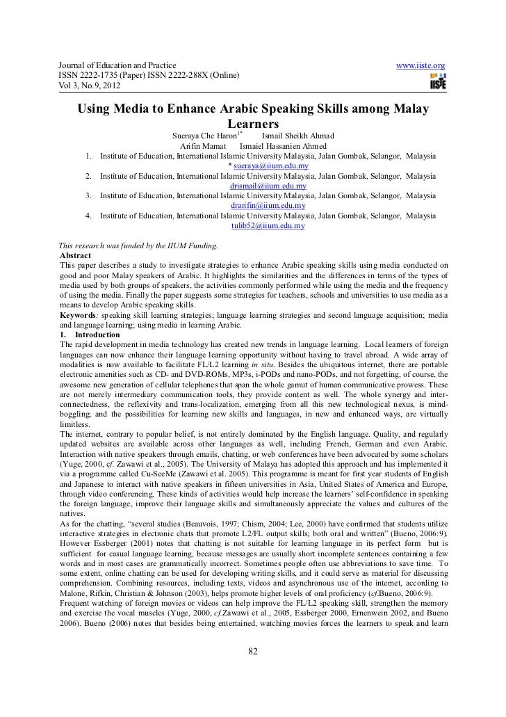 Journal of Education and Practice                                                                      www.iiste.orgISSN 2...