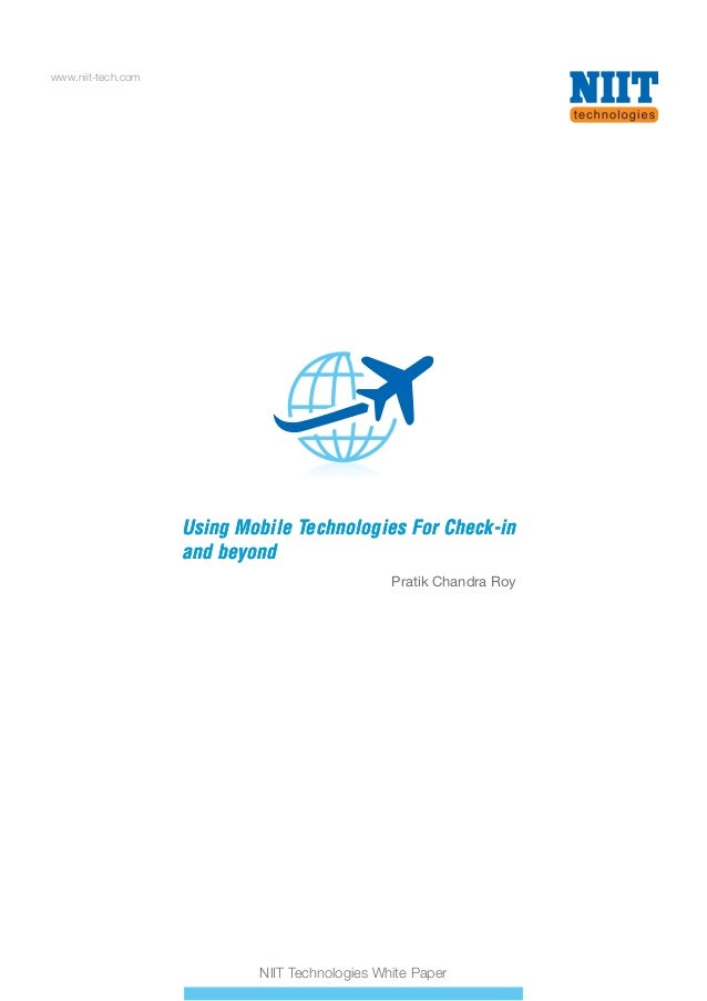 Using Mobile Technologies for Check-in and beyond - Whitepaper