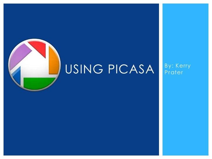 Using picasa1