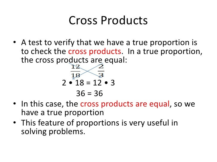 How to solve proportions word problems