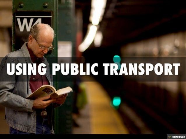 Using Public Transport
