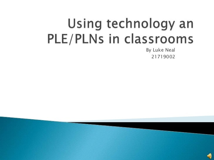 Using technology in classrooms