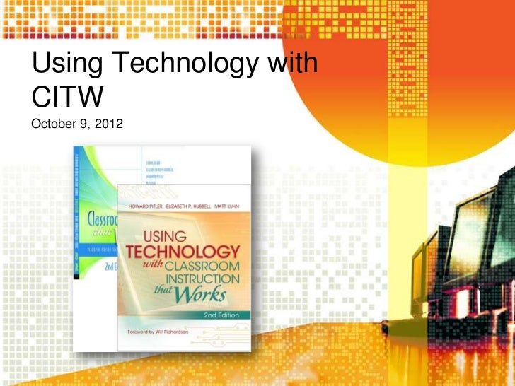 Using technology with citw state level pd-oct. 9