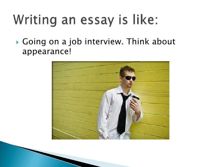 writing an interview essay