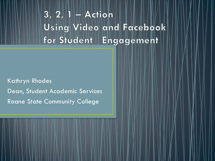 Using video and facebook for student itc february 2012 mk_rhodes