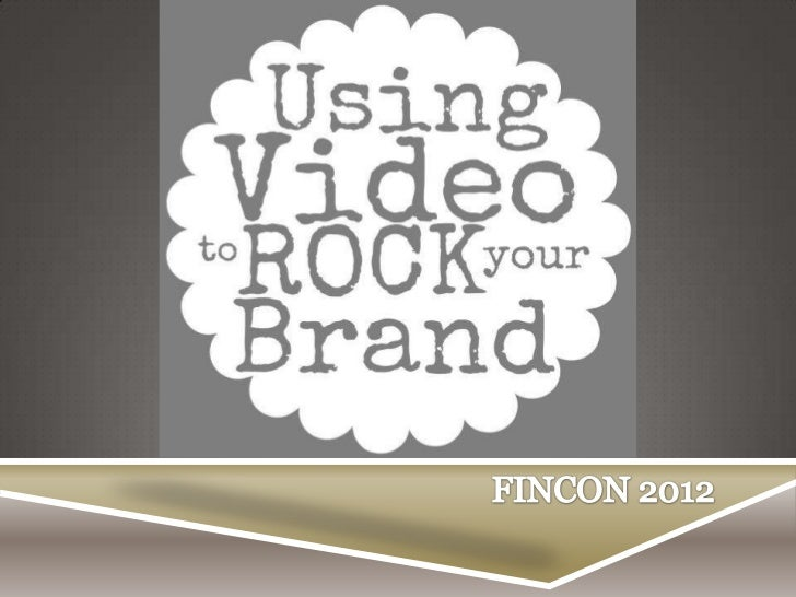 How to Use Video to Build Your Brand- Jeff Rose