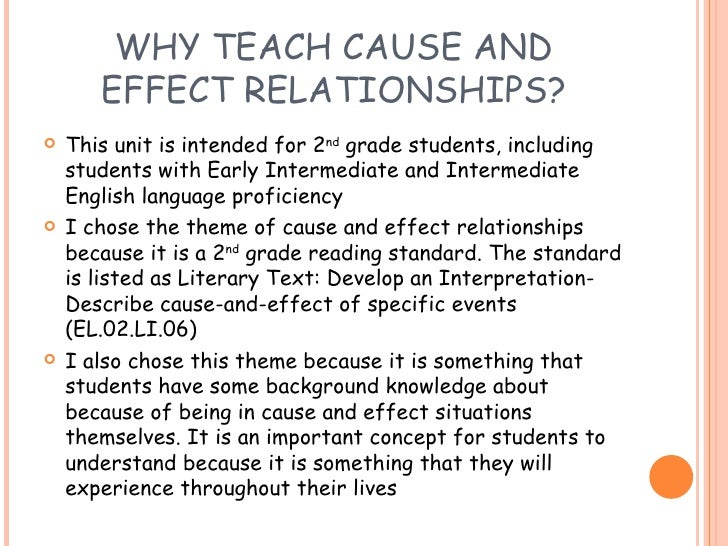 cause effect why students fail
