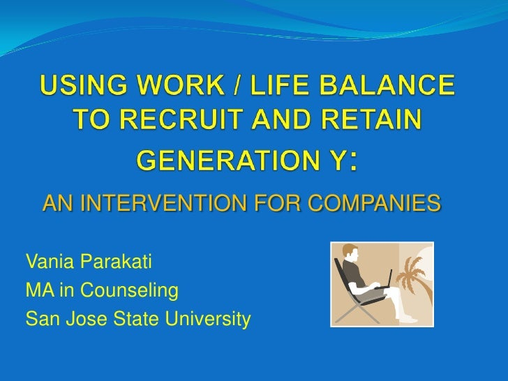 Work Life Balance Programs Example Using Work Life Balance to Recruit And Retain