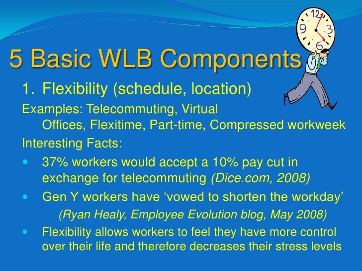 Work Life Balance Programs Example Definition of Work Life Balance Integration of Work And Family so That
