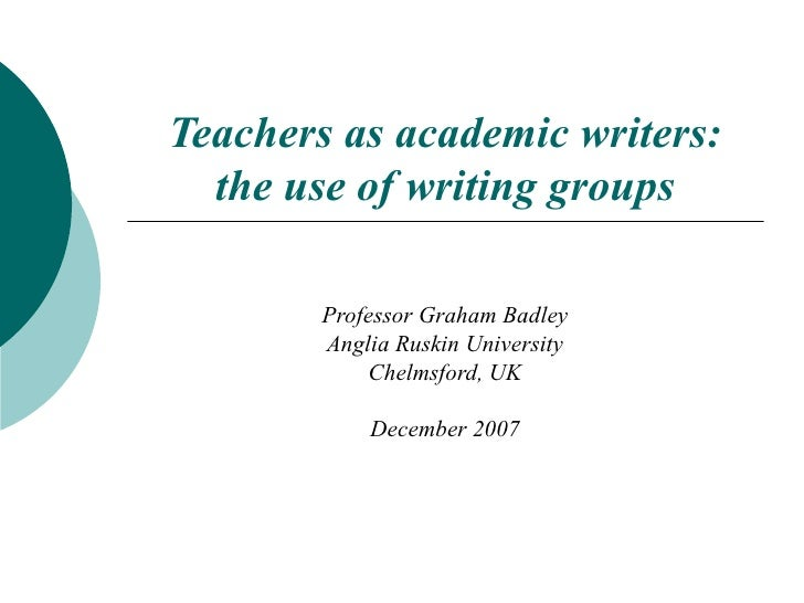 Usingwritinggroups