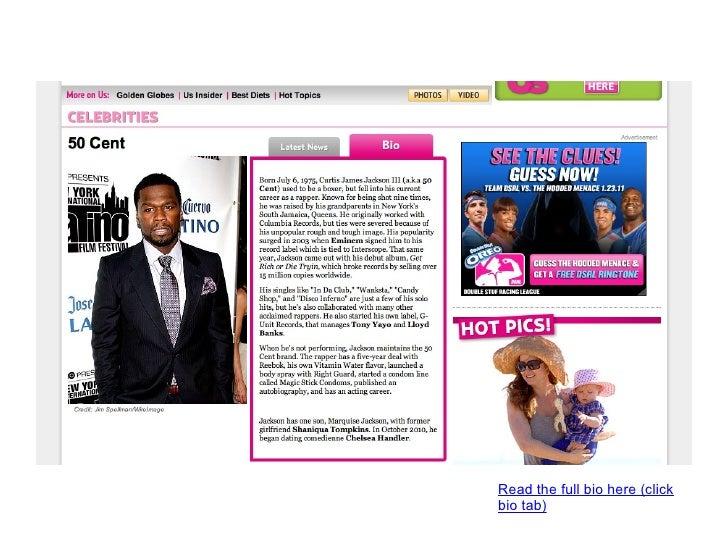 UsMagazine.com Celebrity bios