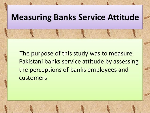 Literature review on banking services