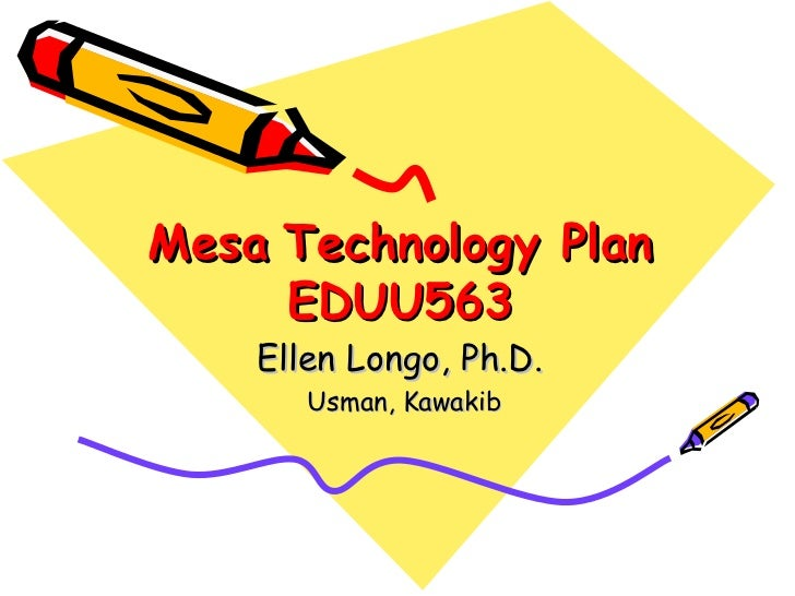 Usman technology plan