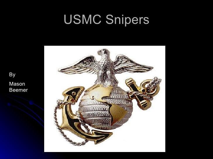 USMC Snipers By  Mason Beemer