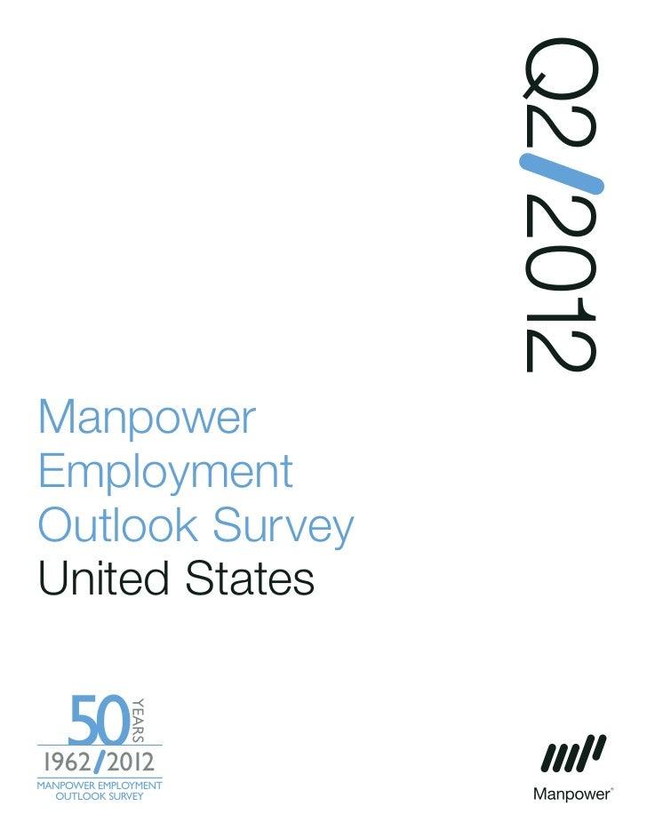 Q2 2012ManpowerEmploymentOutlook SurveyUnited States