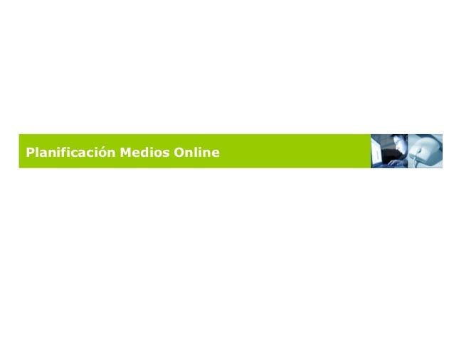 Planificación Medios Online