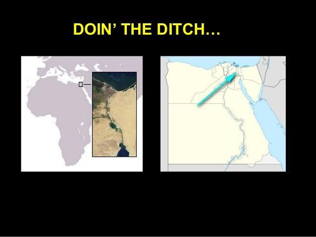 US Navy Transverses The Suez Canal
