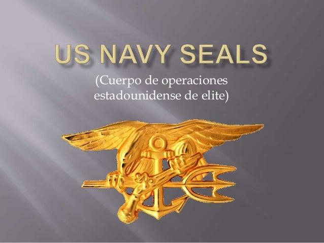 (Cuerpo de operaciones estadounidense de elite)