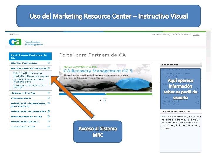 Uso Mrc Ca Partner Portal