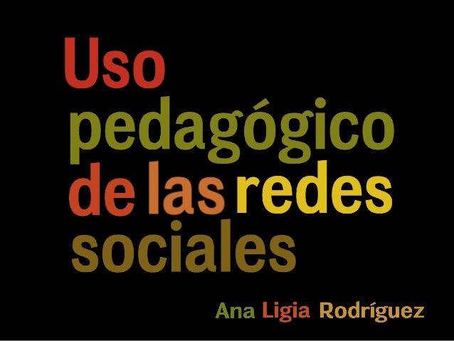 Uso pedagogico-redes-sociales
