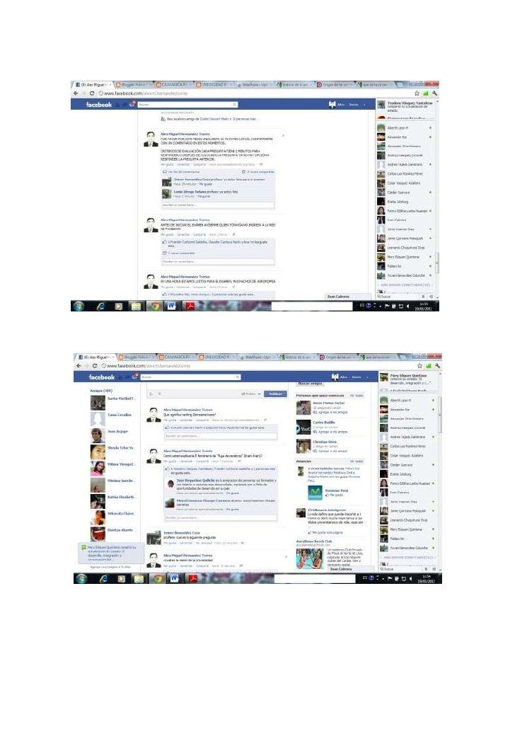 Uso de facebook