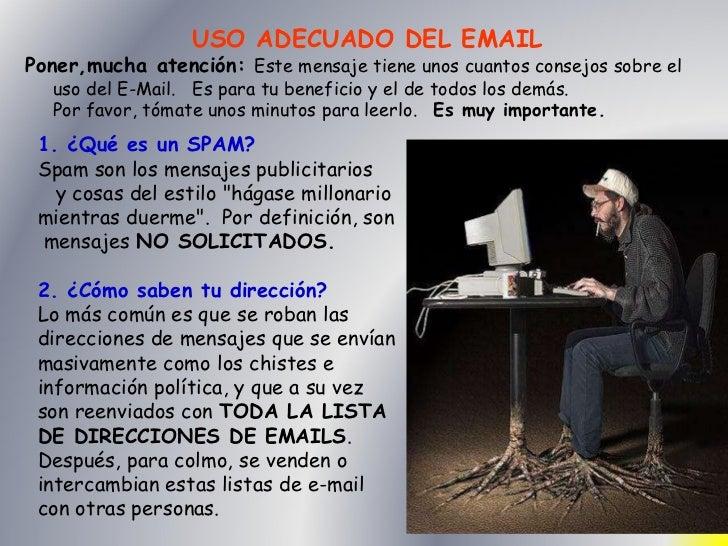 Uso del correo