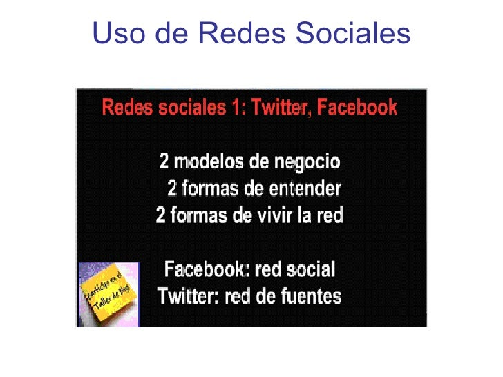 Uso de Redes Sociales