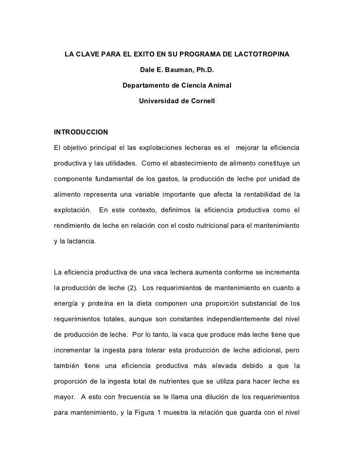 Uso de somatotropina MSD Salud Animal Salud Lechera