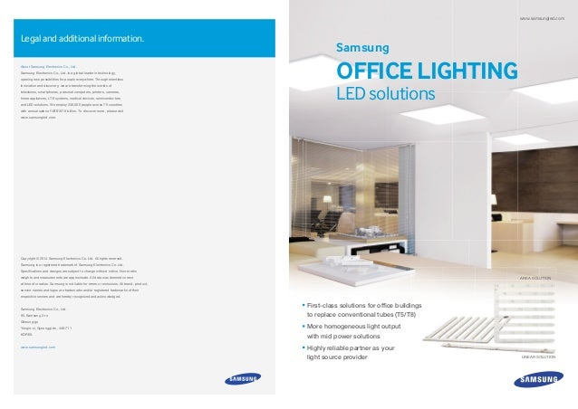 samsung office lighting led solutions