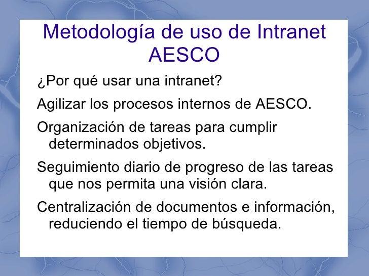 Elevar la productividad en la asociación AESCO con el uso de OpenAtrium