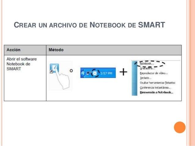 CREAR UN ARCHIVO DE NOTEBOOK DE SMART