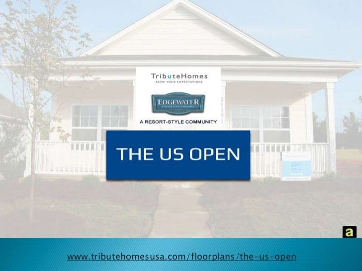 US Open, Edgewater: 55+ Active Living Communities in South Carolina by TributeHomes