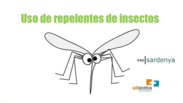Uso de repelentes de insectos