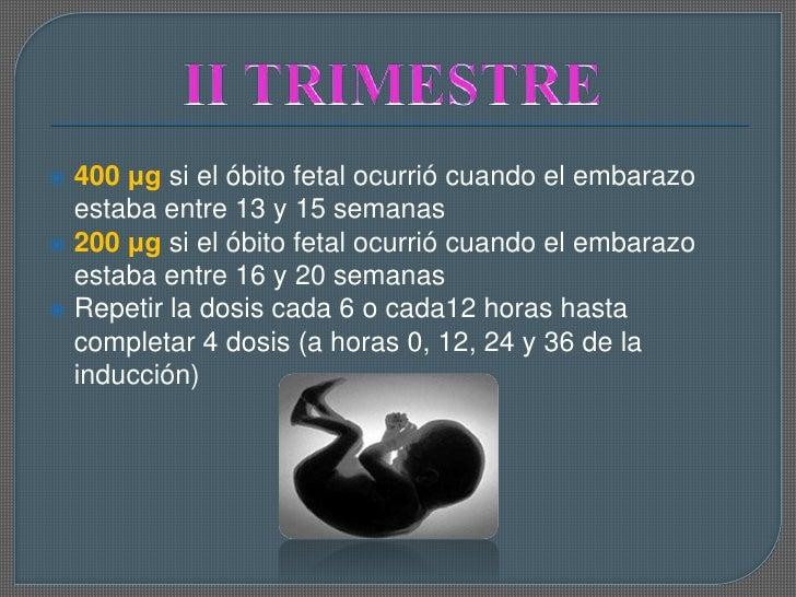 Cytotec Dosis Para 3 Semanas De Embarazo