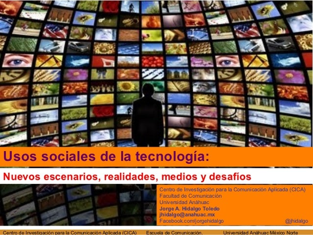 Usos sociales de la tecnología