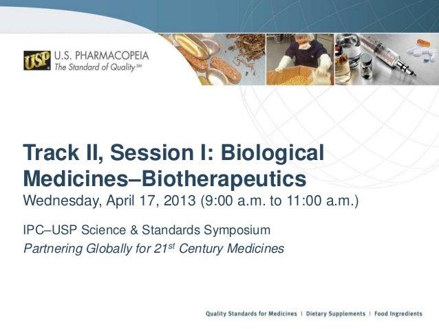 Usp  biotherapeutics - biological medicines