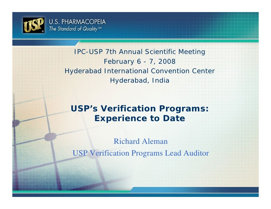 IPC-USP 7th Annual Scientific Meeting          February 6 - 7, 2008Hyderabad International Convention Center            Hy...