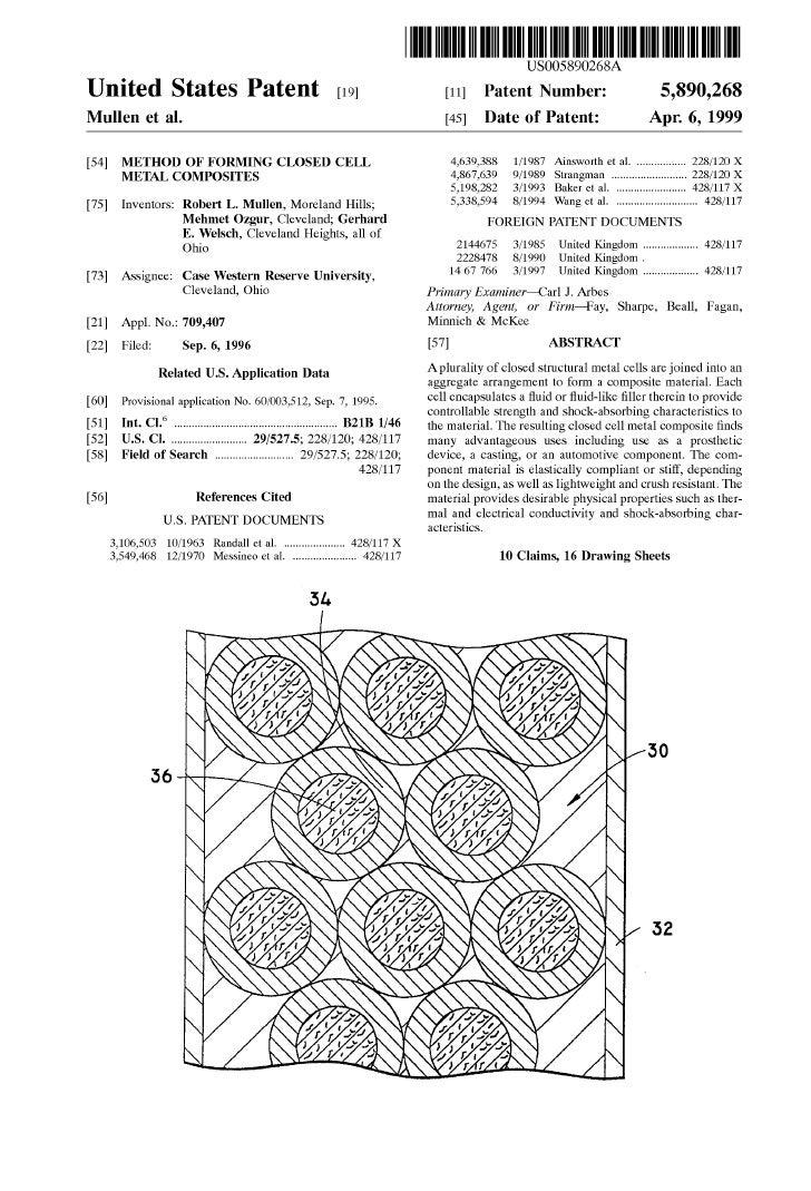 Us Patent5890258