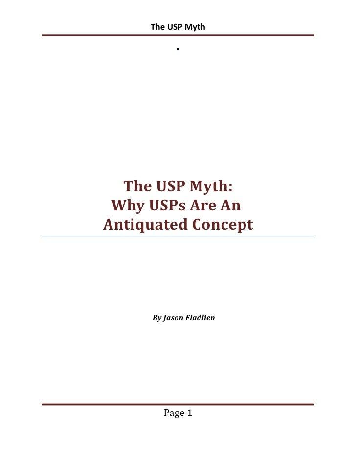 Usp myth