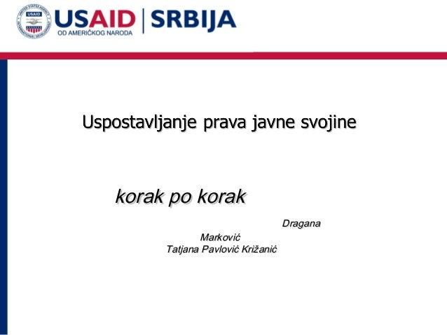 korak po korak Marković Tatjana Pavlović Križanić  Dragana