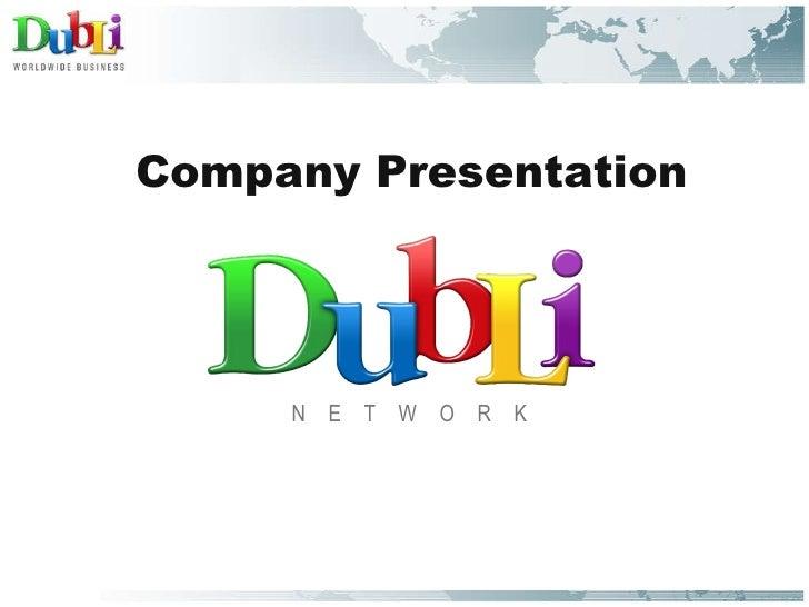 <ul><li>Company Presentation </li></ul><ul><li>N  E  T  W  O  R  K </li></ul>