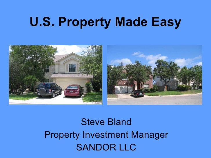 US Property Made Easy 2010