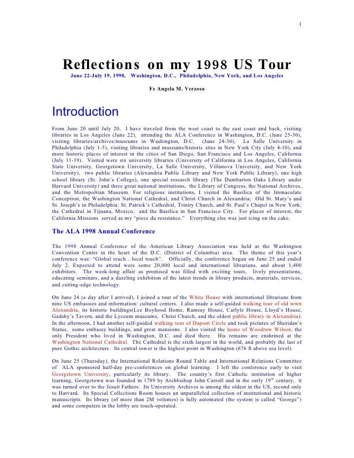 Us tour 1998
