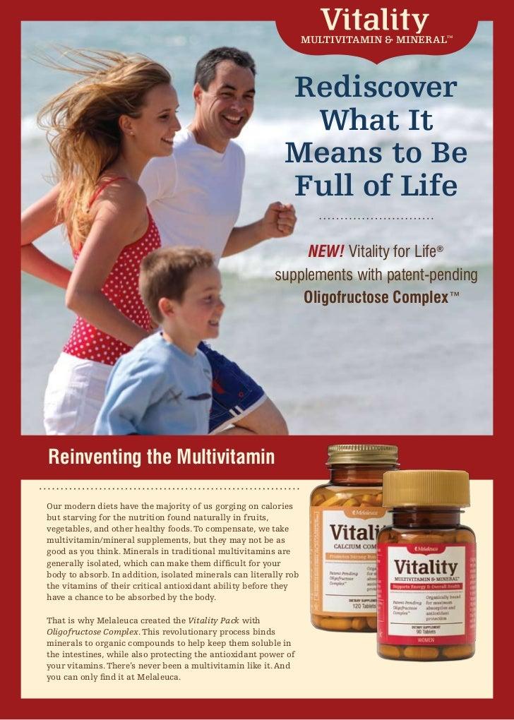 Vitality oligofructose