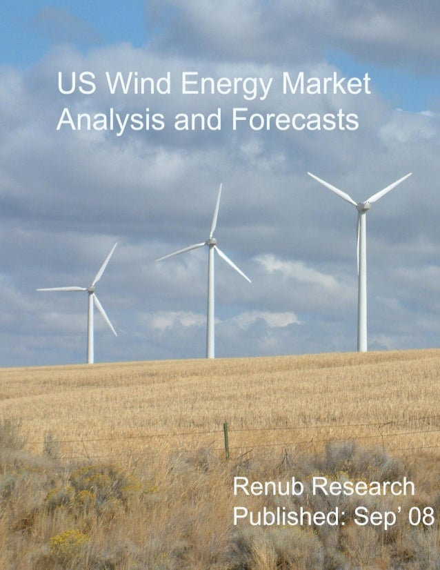 """© Renub Research Page 2 of 8 About the Report The market research report on """"US Wind Energy Market Analysis and Forecasts""""..."""