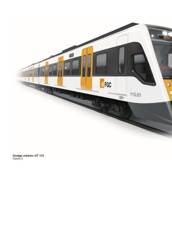 Futurs trens FGC línia Vallès