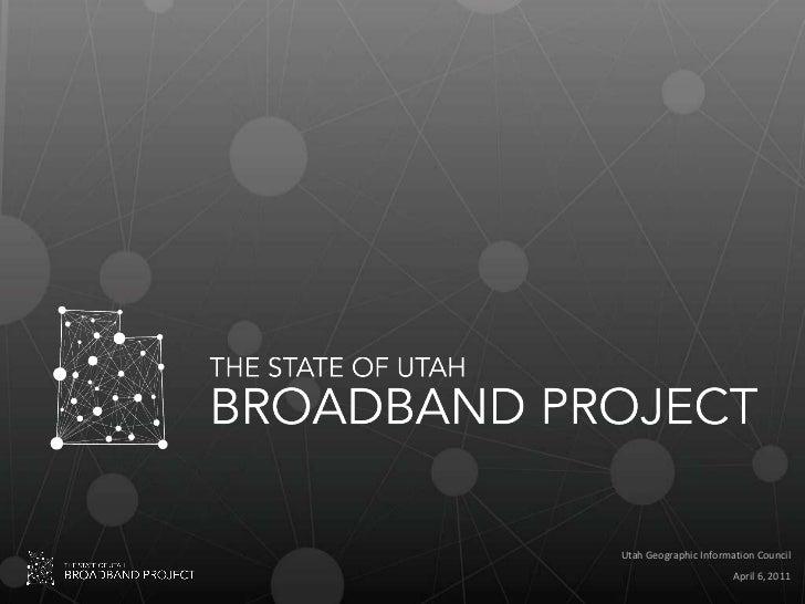 Utah Broadband Map 20110406