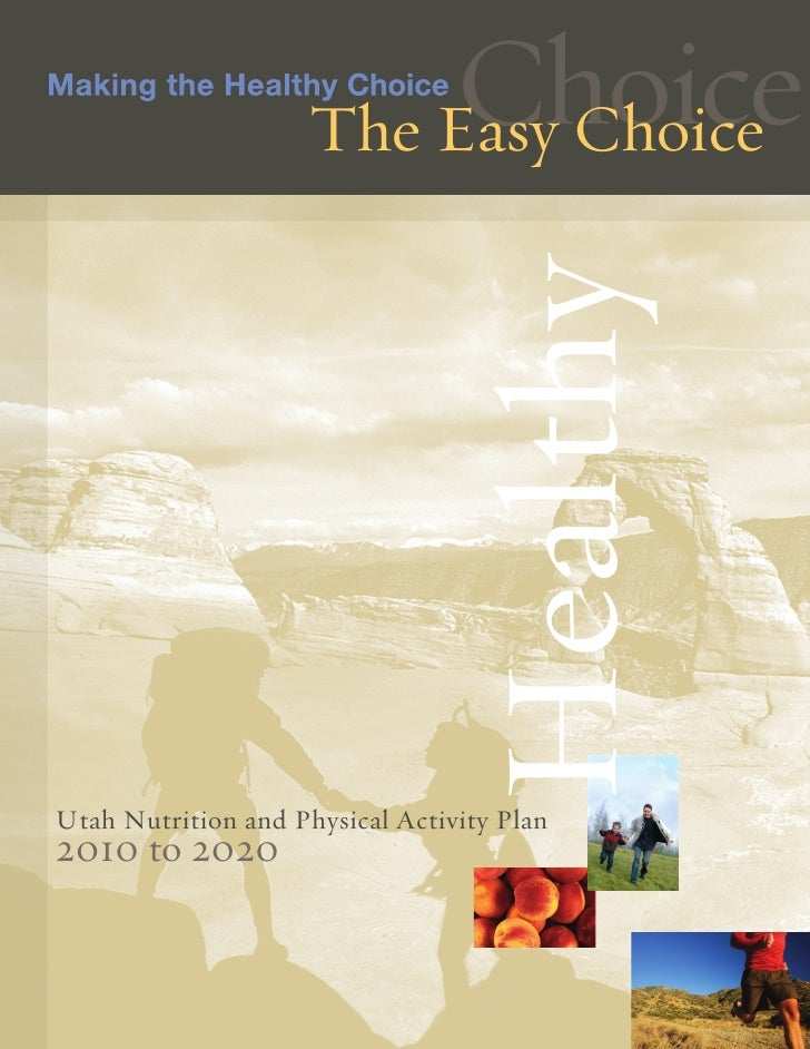 Utah Nutrition and Physical Activity Plan 2010-2020